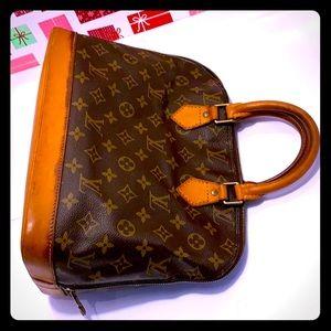 VTG Louise Vuitton Alma Monogram Satchel/Handbag